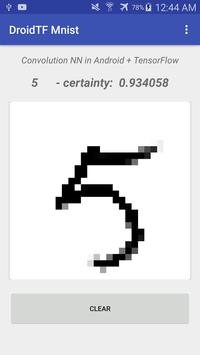 DroidTF Mnist screenshot 2