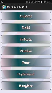 2017 IPL Schedule Full apk screenshot