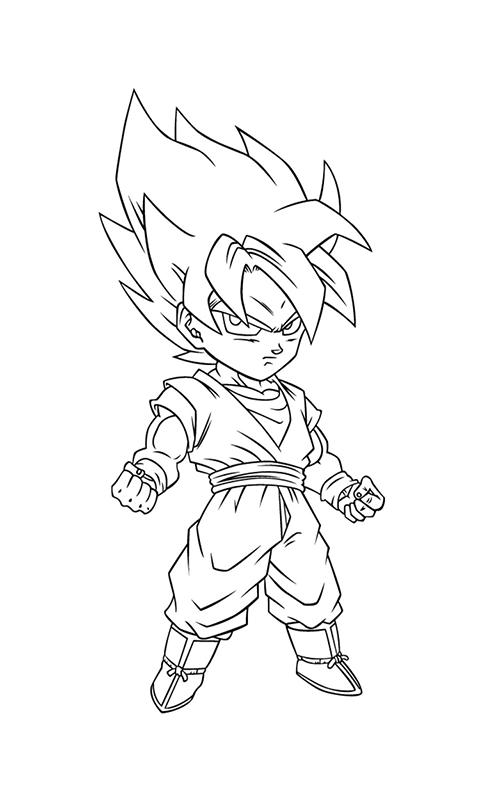 Colorear Super Saiyan Pro For Android Apk Download