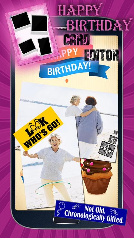 Happy Birthday Cards Maker Screenshot 4