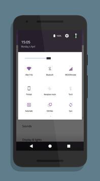 Purple Plot - CM Theme apk screenshot