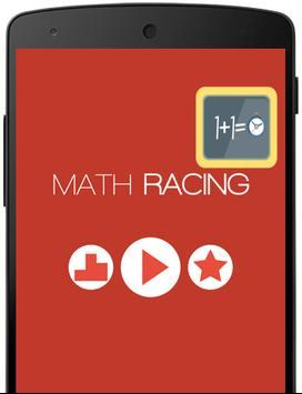 Math Racing poster