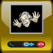 New famous fake call icon
