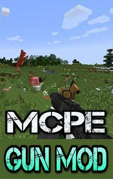 Gun MODS For MCPE.+ poster