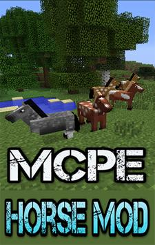 Horse MOD For MCPE.+ poster