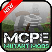 Mutant MODS For MCPE.+ icon