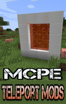 Teleportation Mods For MCPE.+ poster