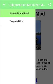 Teleportation Mods For MCPE.+ apk screenshot