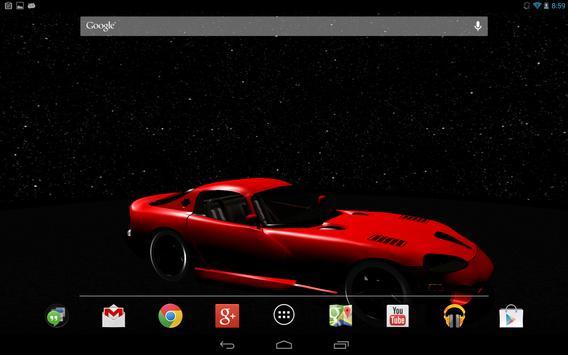 3D Sport Car Live Wallpaper apk screenshot