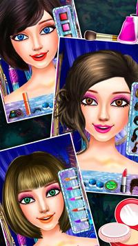 Mermaid Princess Frozen Salon screenshot 2
