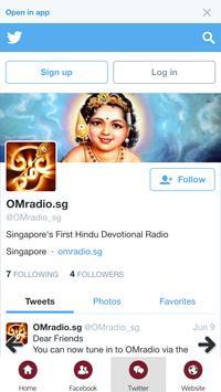 OMradio.sg screenshot 2