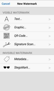 iWatermark+ Free Add Text, Logo, Signature Caption apk screenshot