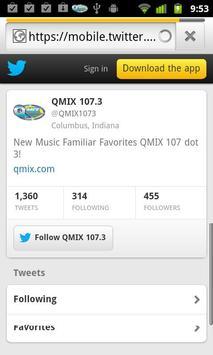 QMIX 107.3. screenshot 1