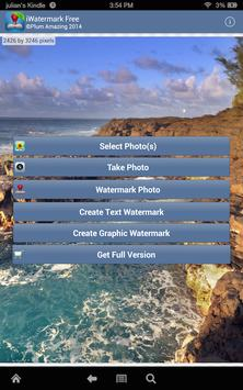 iWatermark Free Watermarking poster