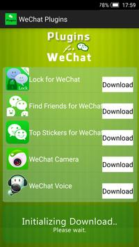 Plugins for WeChat apk screenshot