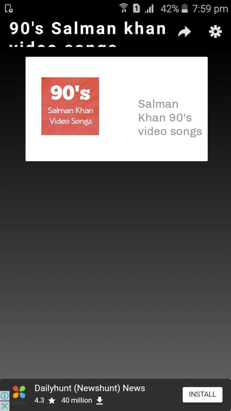 90s Salman Khan Video Songs For Android