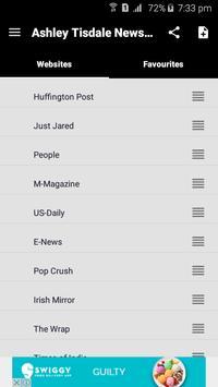 Ashley Tisdale News & Gossips screenshot 1
