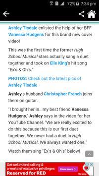 Ashley Tisdale News & Gossips screenshot 2