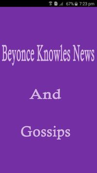 Beyonce Knowles News & Gossips poster