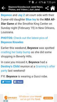 Beyonce Knowles News & Gossips screenshot 2