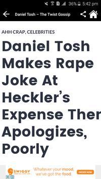 Daniel Tosh News & Gossips screenshot 3