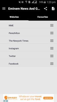 Eminem News & Gossips apk screenshot