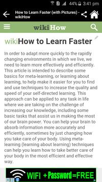 How can you learn faster? screenshot 3