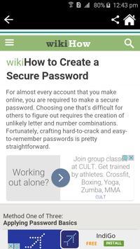 How to choose a password? apk screenshot