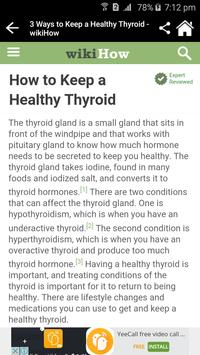 How To Avoid Thyroid? apk screenshot