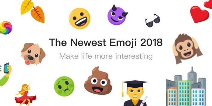 OS11 Emoji Keyboard for Phone 8 poster