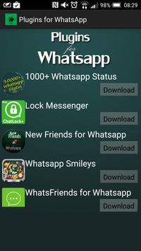 Addons for Whatsapp poster