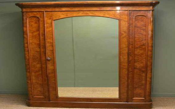 Closet Door with Mirror poster