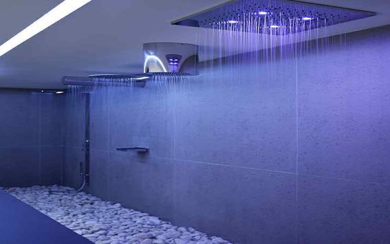 Bathroom Rain Shower Head poster
