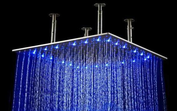 Bathroom Rain Shower Head screenshot 2