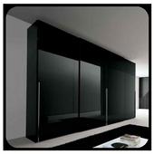 Black Wardrobe Design icon