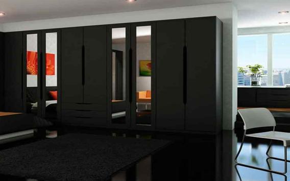 Black Wardrobe Design apk screenshot