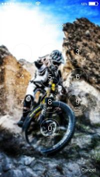 Downhill Lock Screen MTB screenshot 8