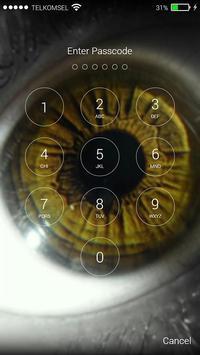 Eye Lock Screen Background screenshot 7