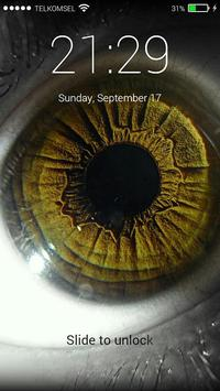 Eye Lock Screen Background screenshot 4