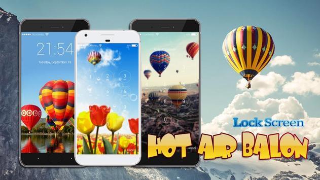 Hot Air Balon Lock Screen HD screenshot 4