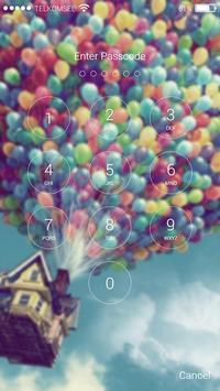 Hot Air Balon Lock Screen HD screenshot 1