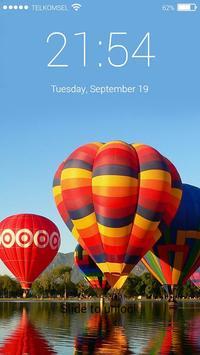 Hot Air Balon Lock Screen HD screenshot 2