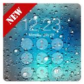 Raindrops Lock Screen icon