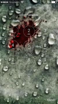 Raindrops Lock Screen screenshot 2