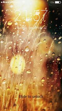 Raindrops Lock Screen screenshot 4