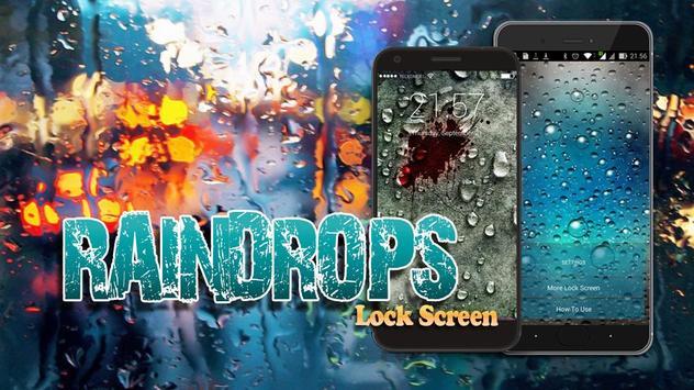 Raindrops Lock Screen screenshot 5