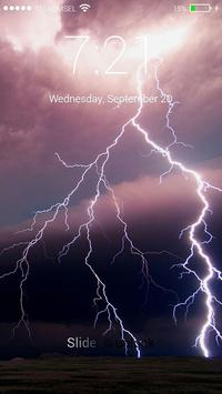 Storm Lock Screen screenshot 9