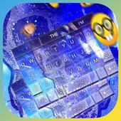 Blue Skull Keybaord Theme icon