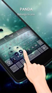 Lovely Panda Keybaord Theme apk screenshot