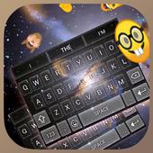Neon Galaxy Keybaord Theme icon